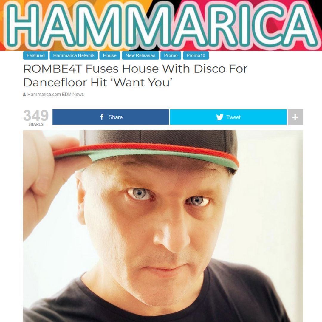 ROMBE4T Fuses House With Disco For Dancefloor Hit 'Want You'